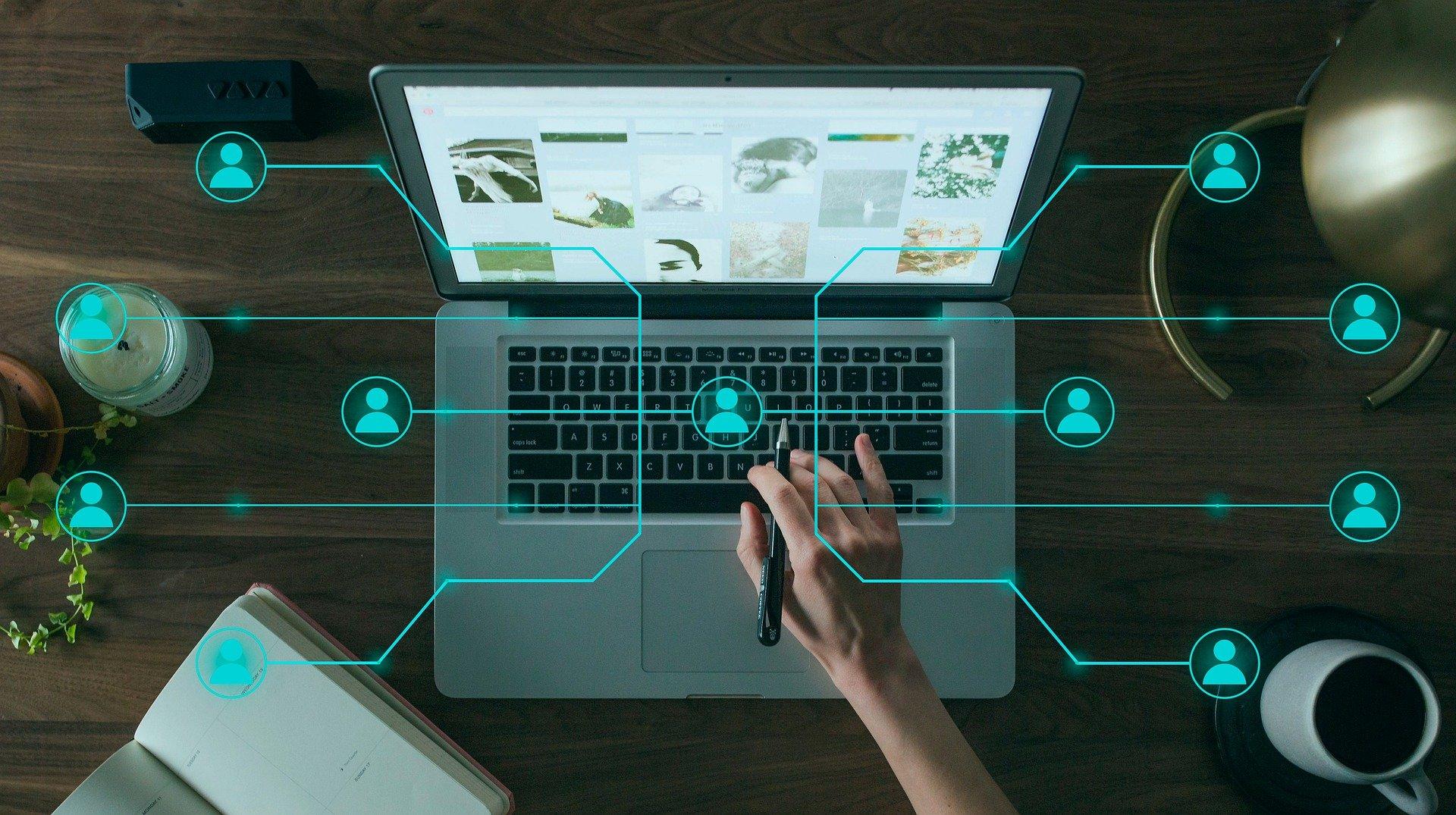 Online marketing propojení