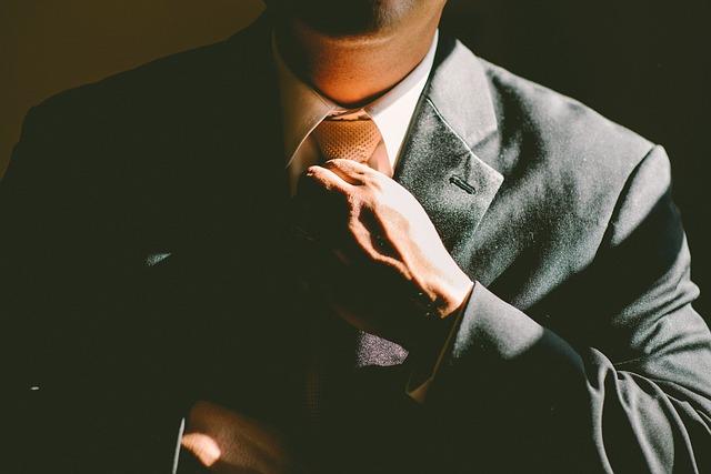 urovnání kravaty