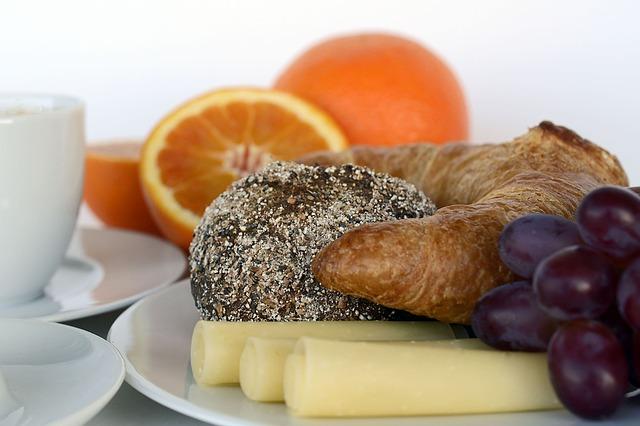 pečivo s ovocem