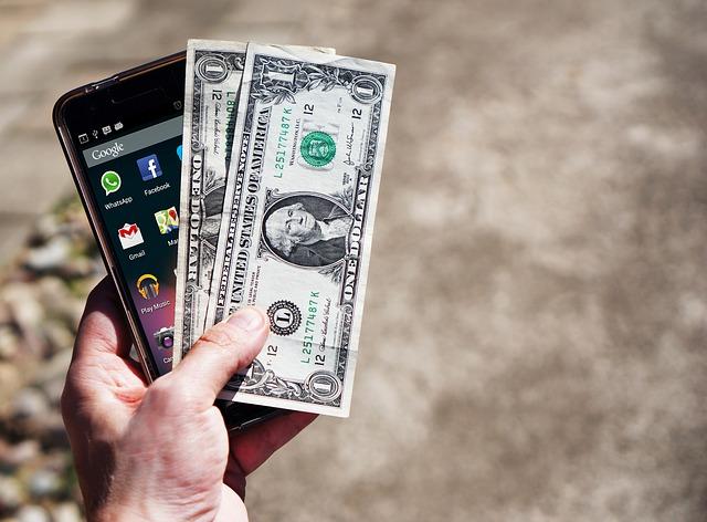 dolary a telefon